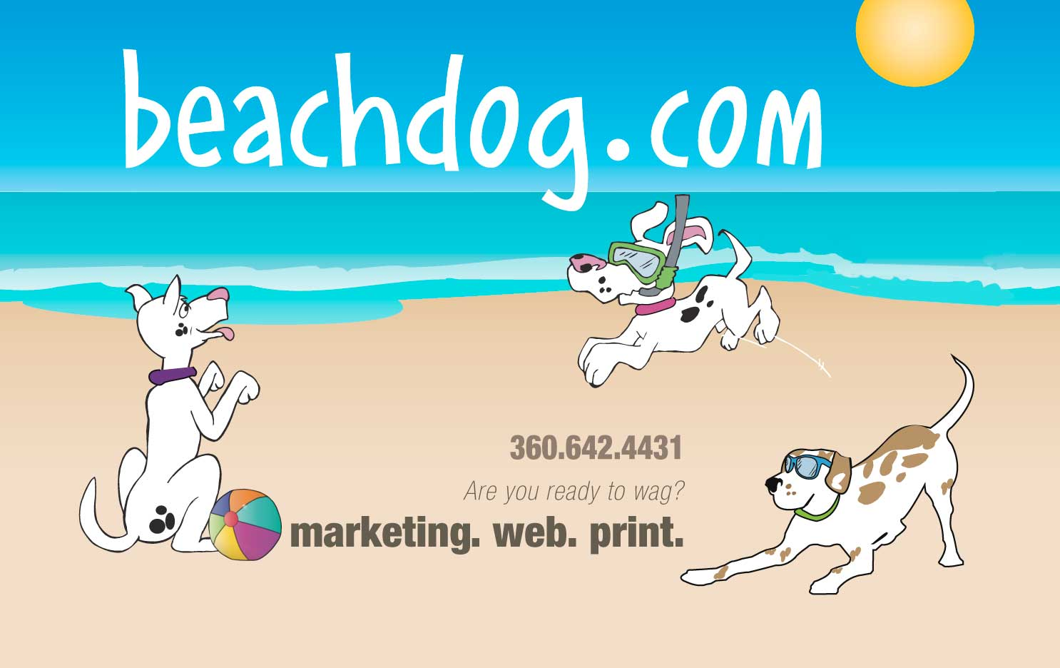 beachdog.com: web. print. marketing