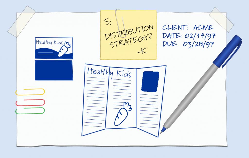 Print Design Process