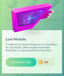 PokeStop Lure