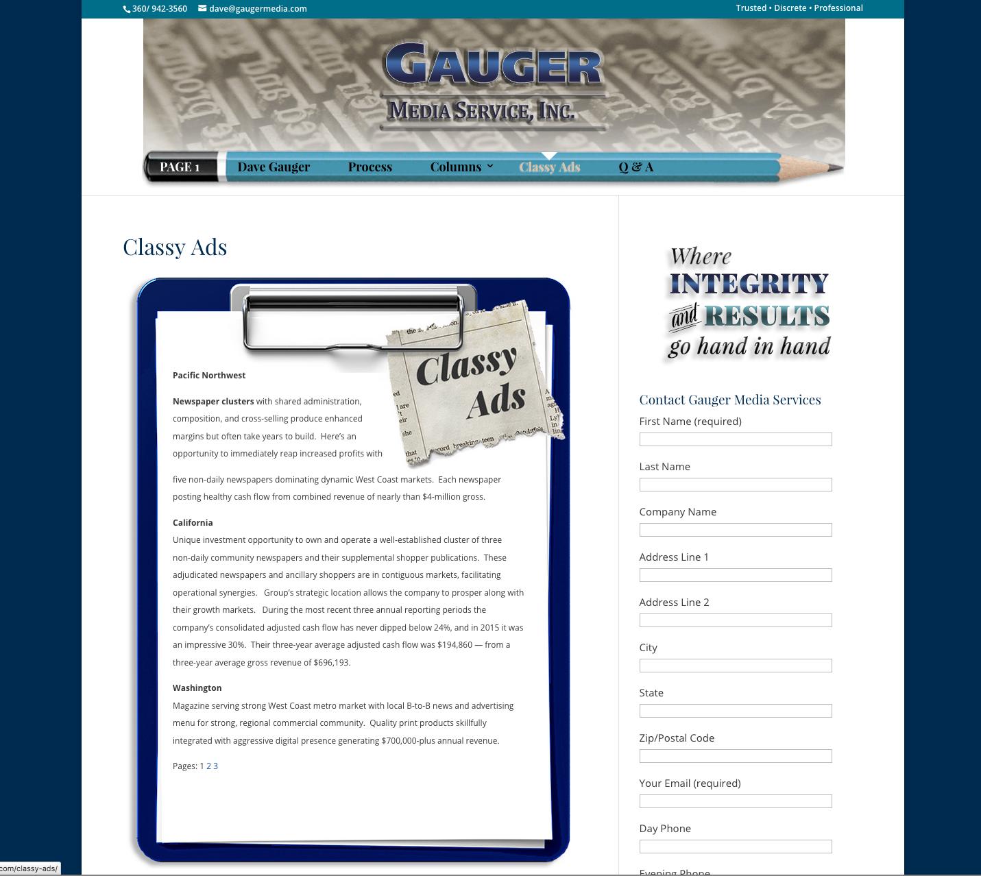 Gauger Media Services