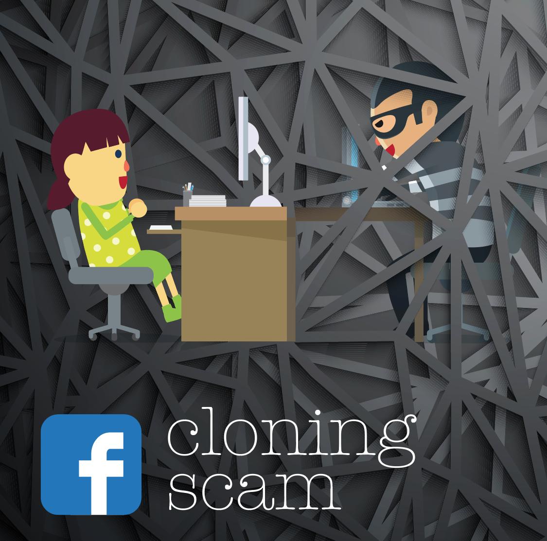 facebook cloning scam